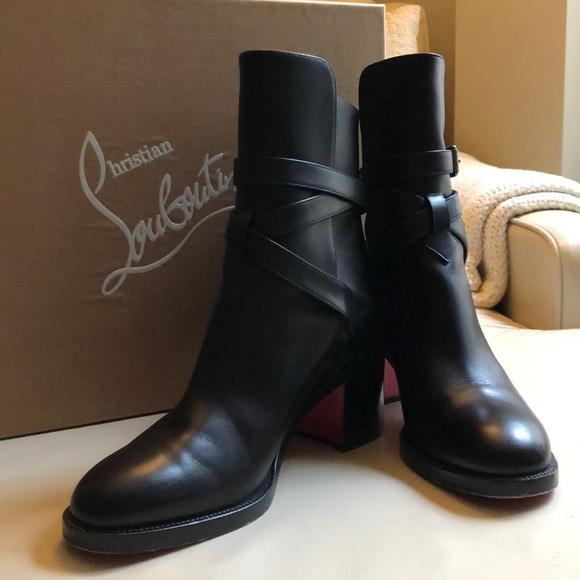 huge discount 3a825 08007 Christian Louboutin Karistrap Boots